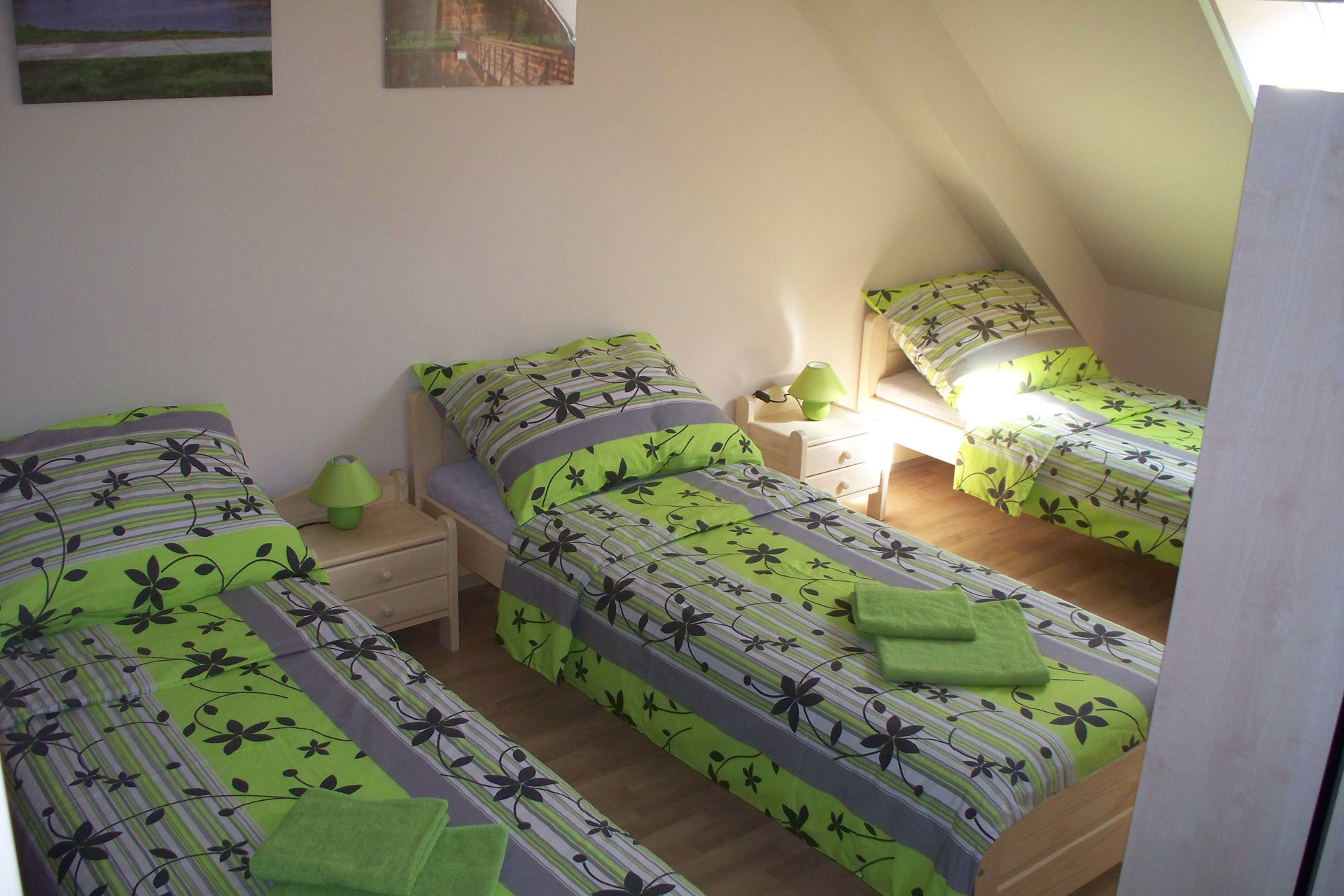 Room 1 Beds